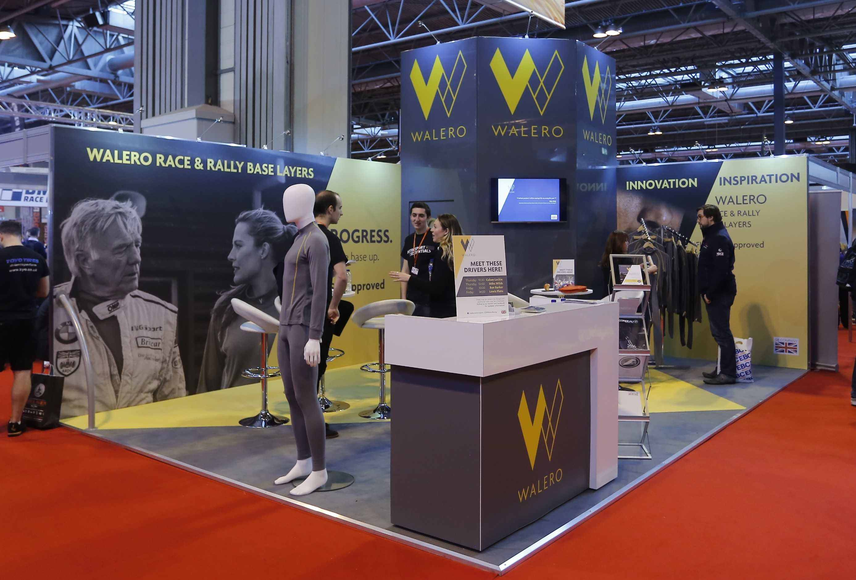 The Walero Stand at Autosport International