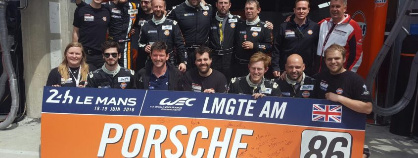 Gulf Racing achieve 5th in GTE AM Class in Le Mans 2016