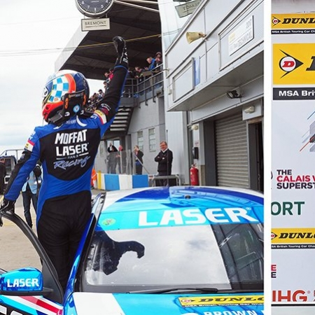Aiden Moffat wins British Touring Car Campionship
