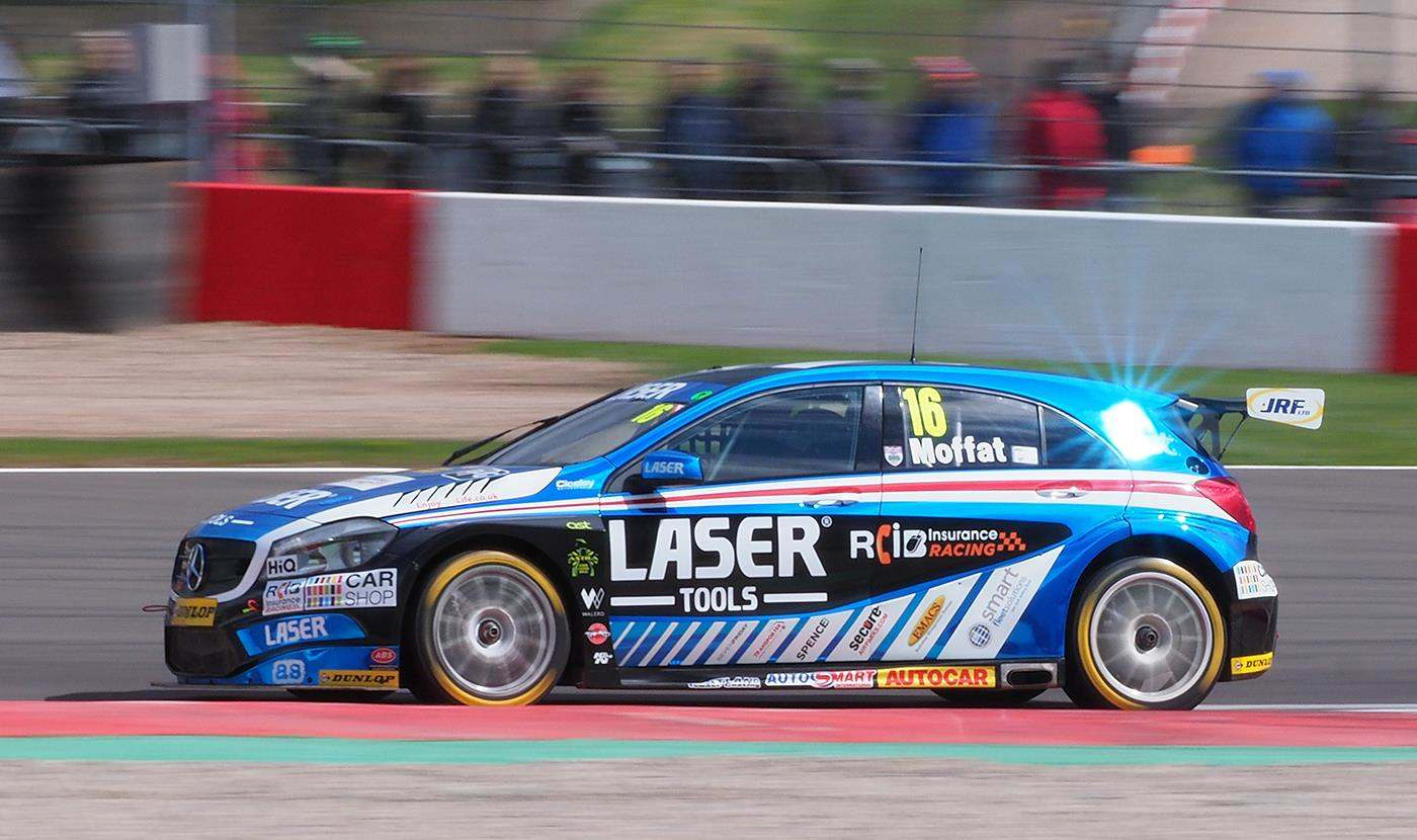 Aiden Laser Tools Racing in BTCC