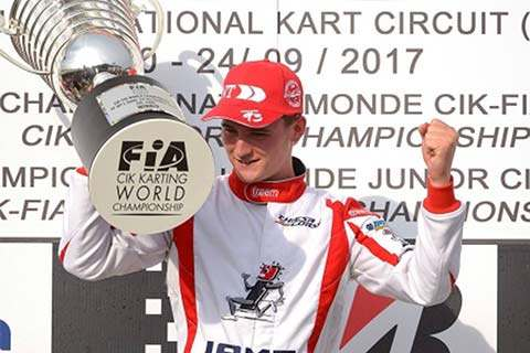 Danny Keirle - CIK-FIA Karting World Champion