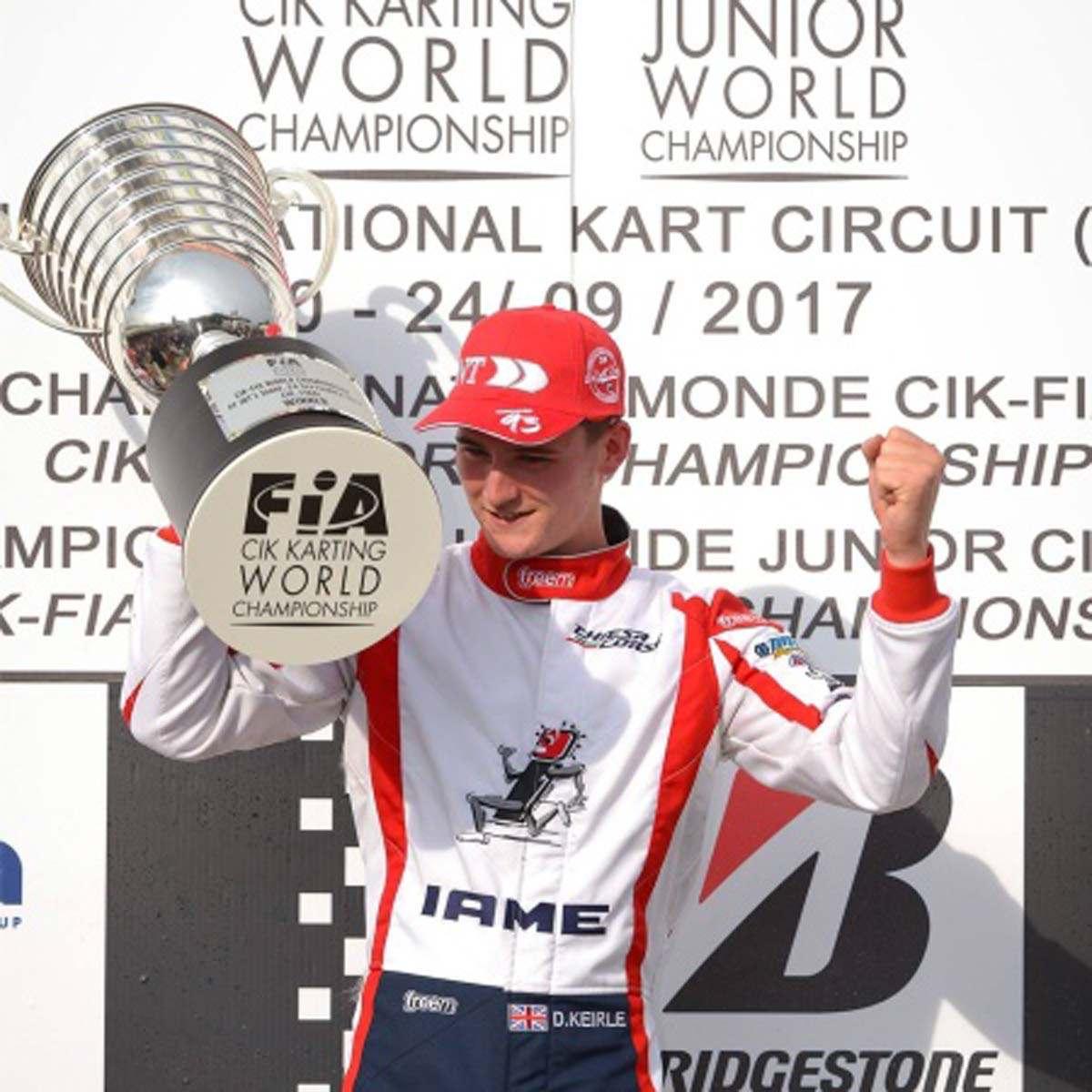 Danny Keirle - CIK-FIA Karting World Champion